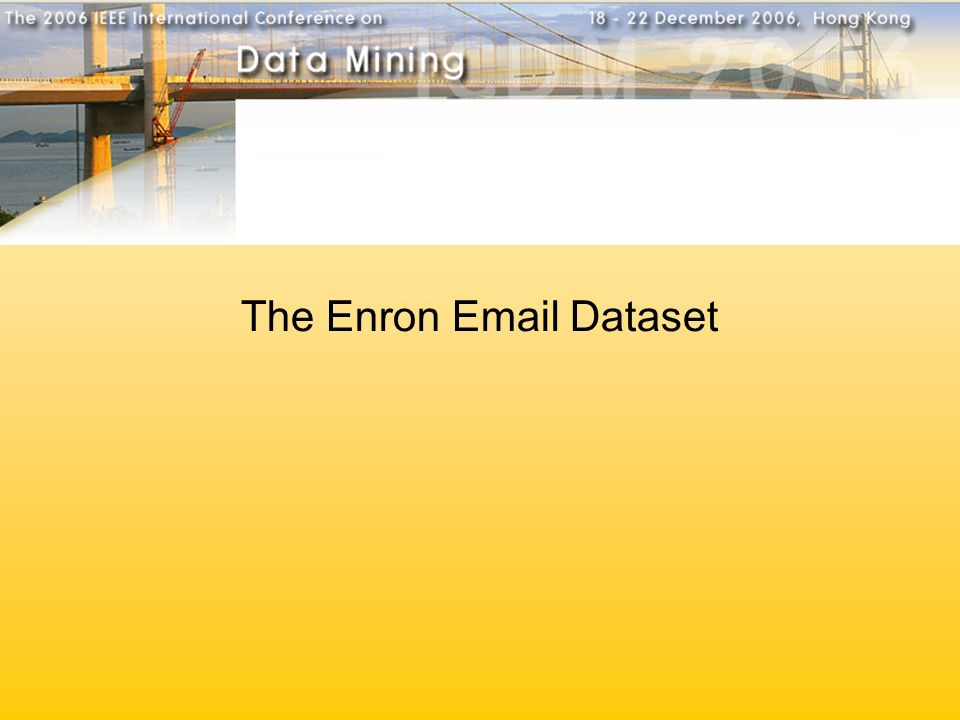 The Enron  Dataset