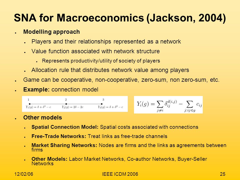 SNA for Macroeconomics (Jackson, 2004)