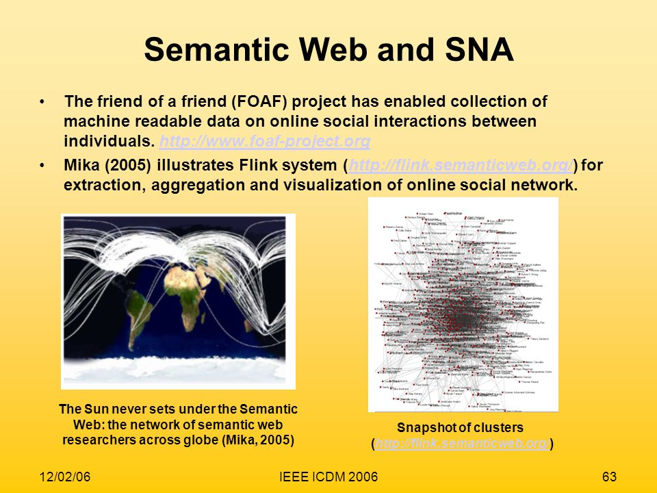 Semantic Web and SNA