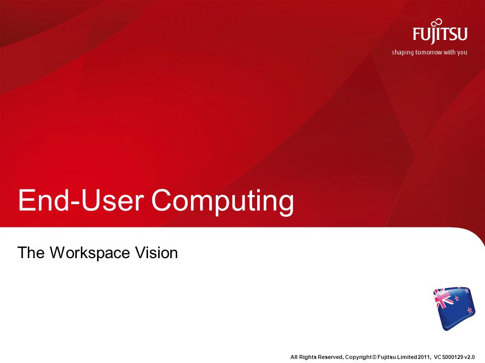 End-User Computing The Workspace Vision