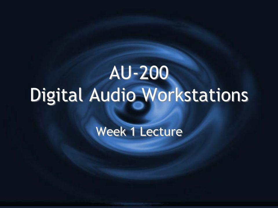 AU-200 Digital Audio Workstations