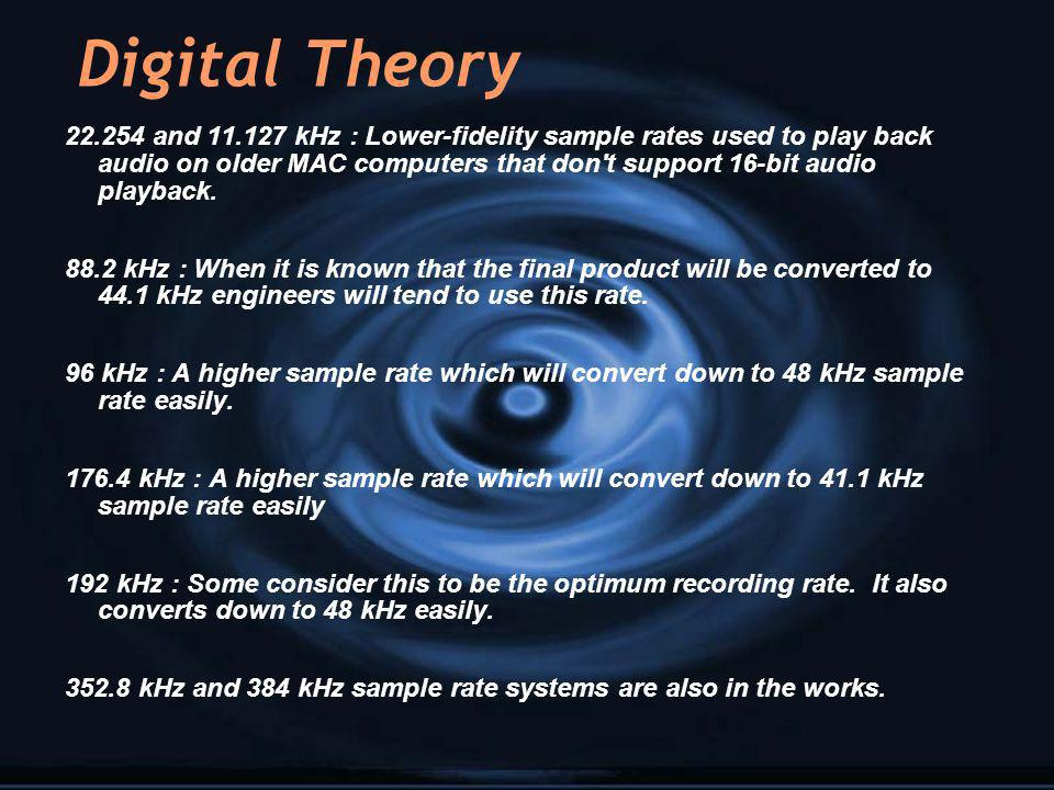 Digital Theory