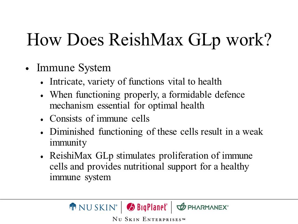 How Does ReishMax GLp work