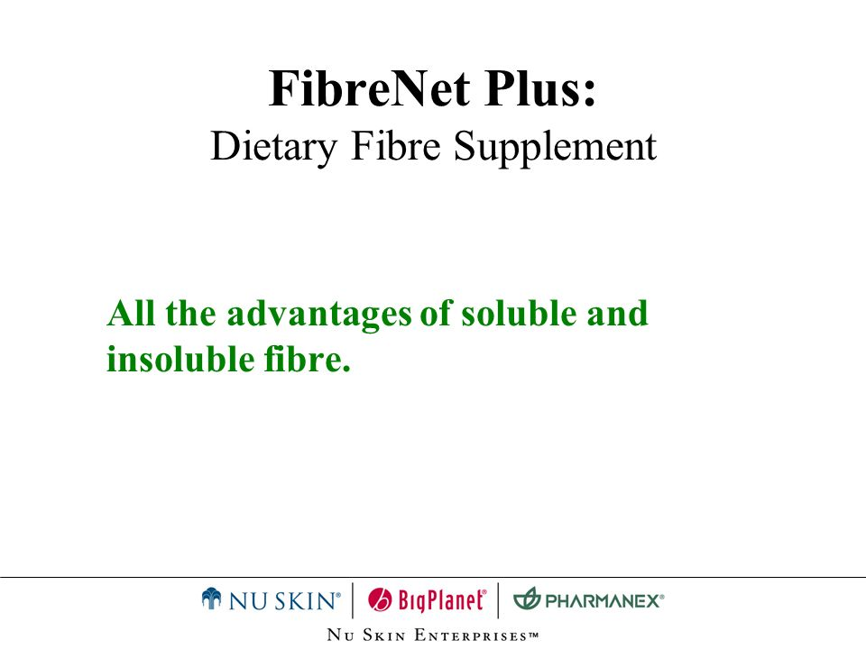 FibreNet Plus: Dietary Fibre Supplement