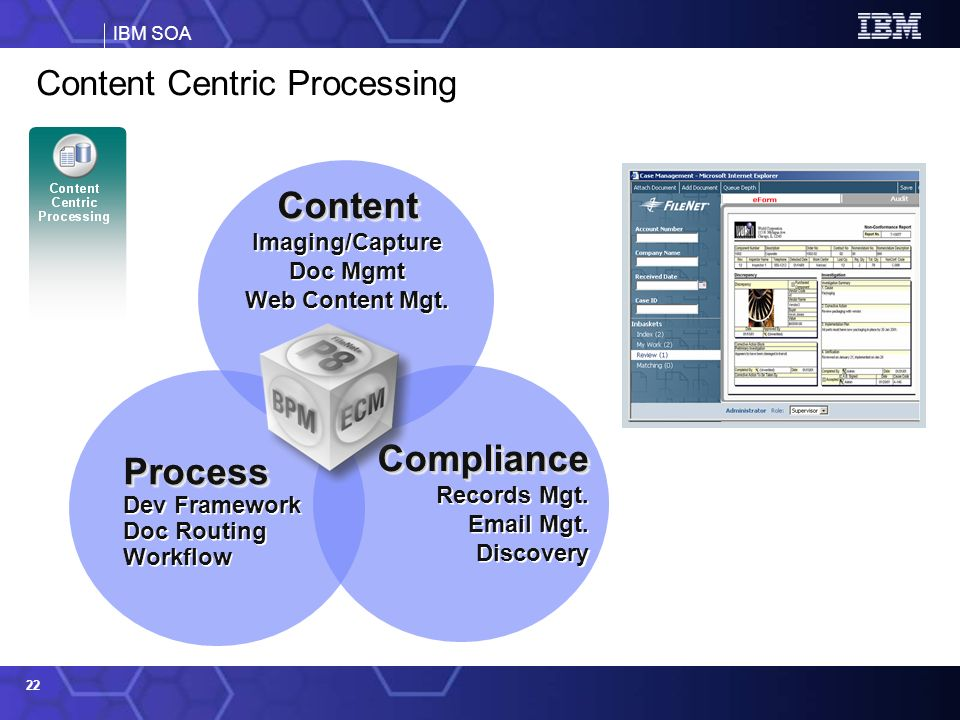 Content Centric Processing