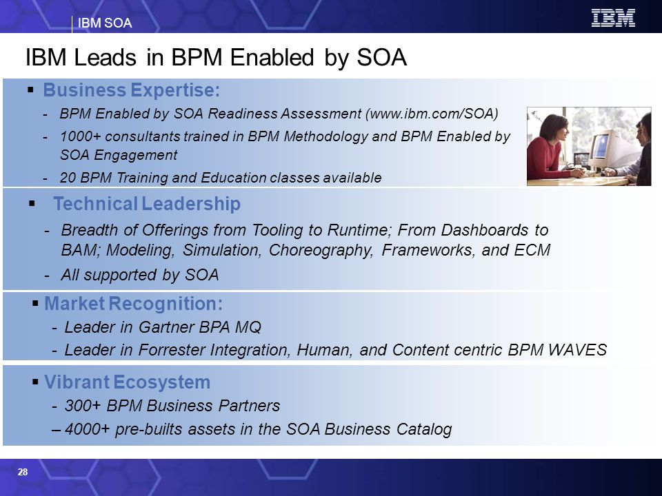 IBM Leads in BPM Enabled by SOA