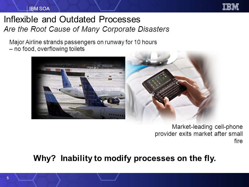Why Inability to modify processes on the fly.