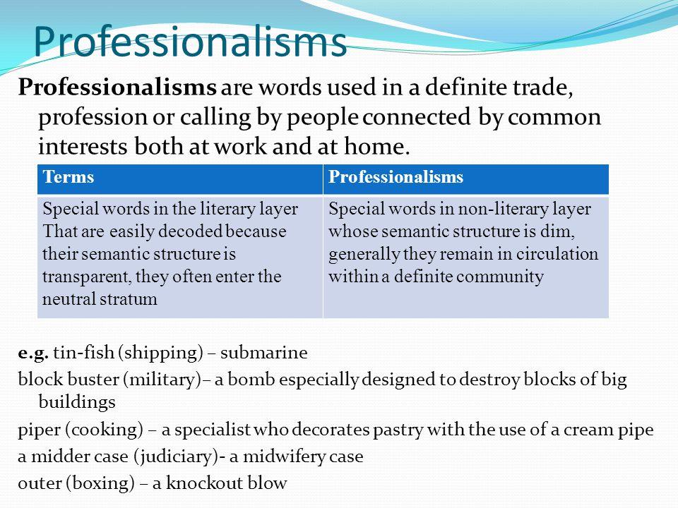 Professionalism' – what does it really mean? – deirdre breakenridge.