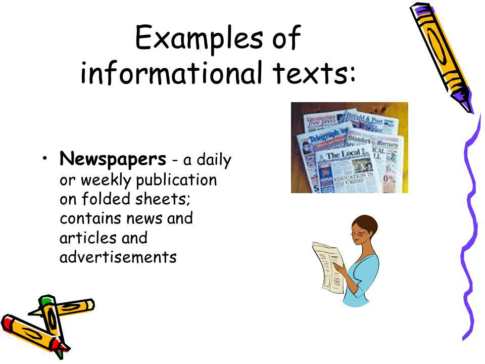 examples of informative text