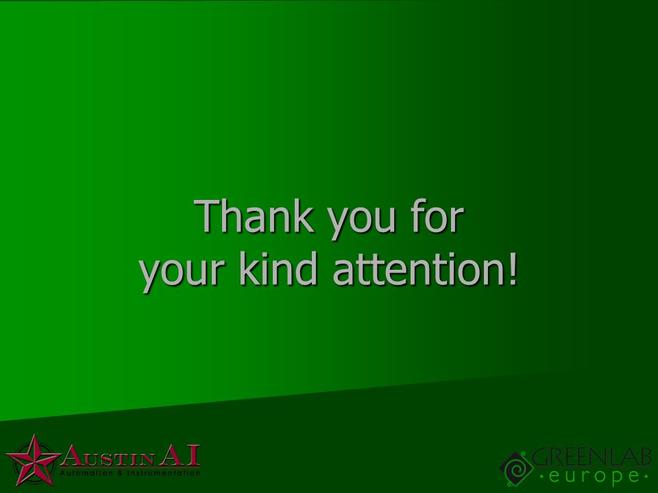 Thank you for your kind attention!