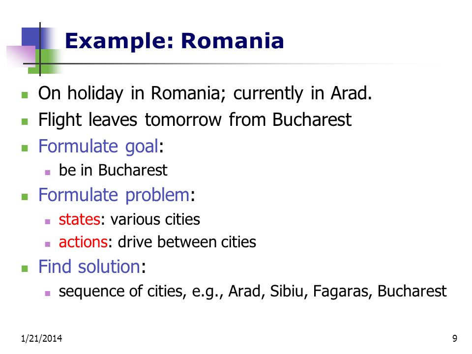 Example: Romania On holiday in Romania; currently in Arad.