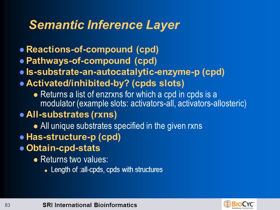 Semantic Inference Layer