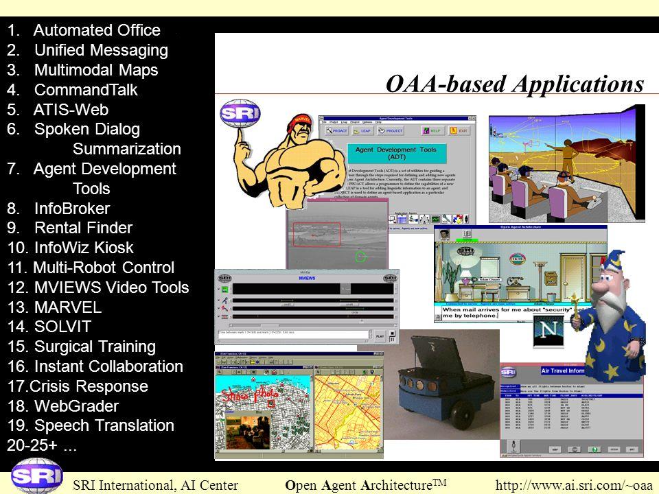The Open Agent ArchitectureTM - ppt download