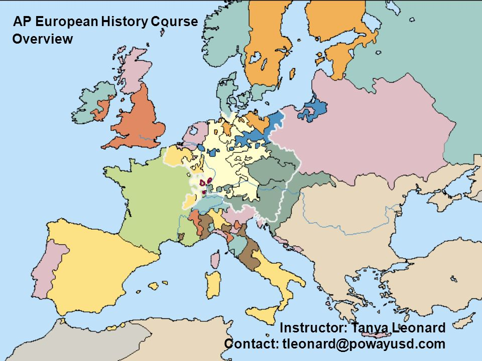 AP European History Course Overview