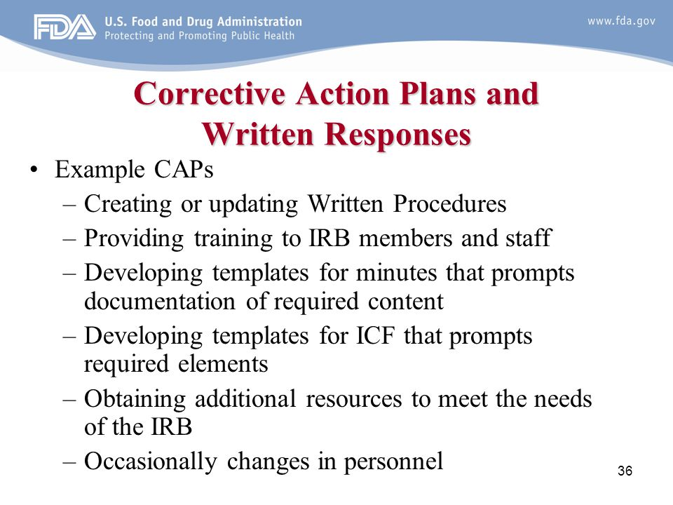 Fdas Bimo Inspection Program And Irb Inspections Ppt Video Online