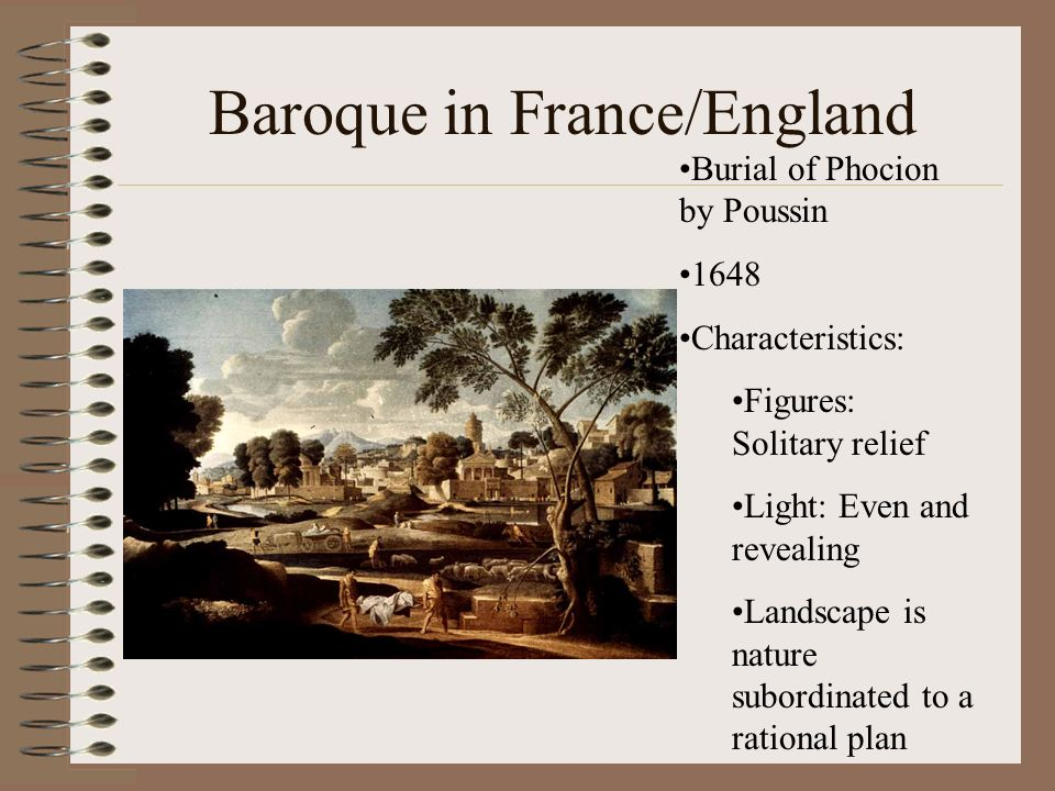 Baroque in France/England