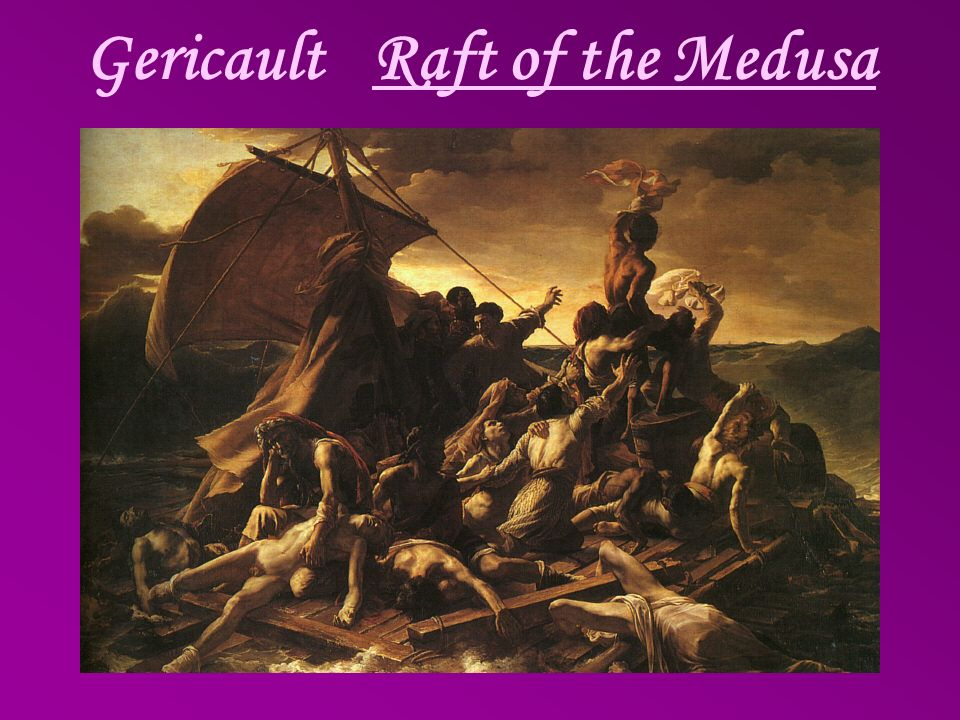 Gericault Raft of the Medusa