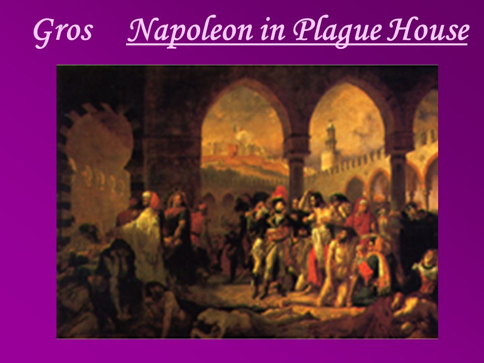 Gros Napoleon in Plague House