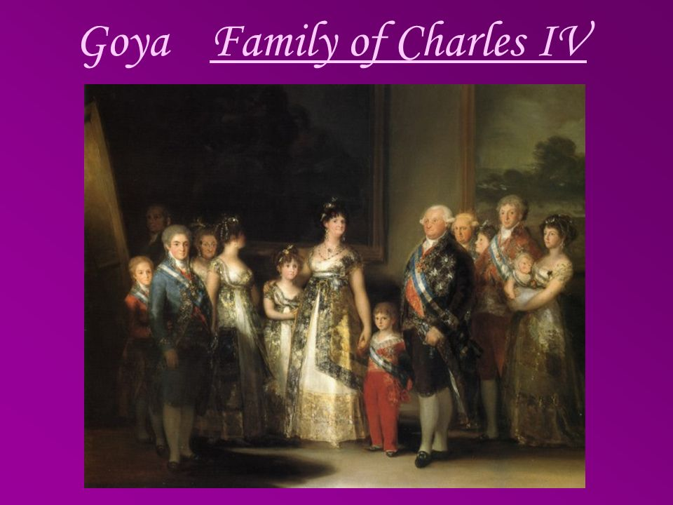 Goya Family of Charles IV