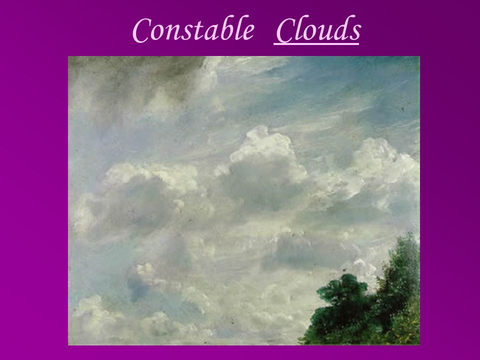 Constable Clouds