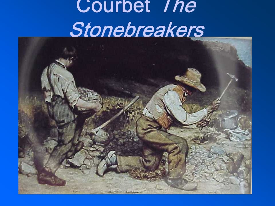 Courbet The Stonebreakers