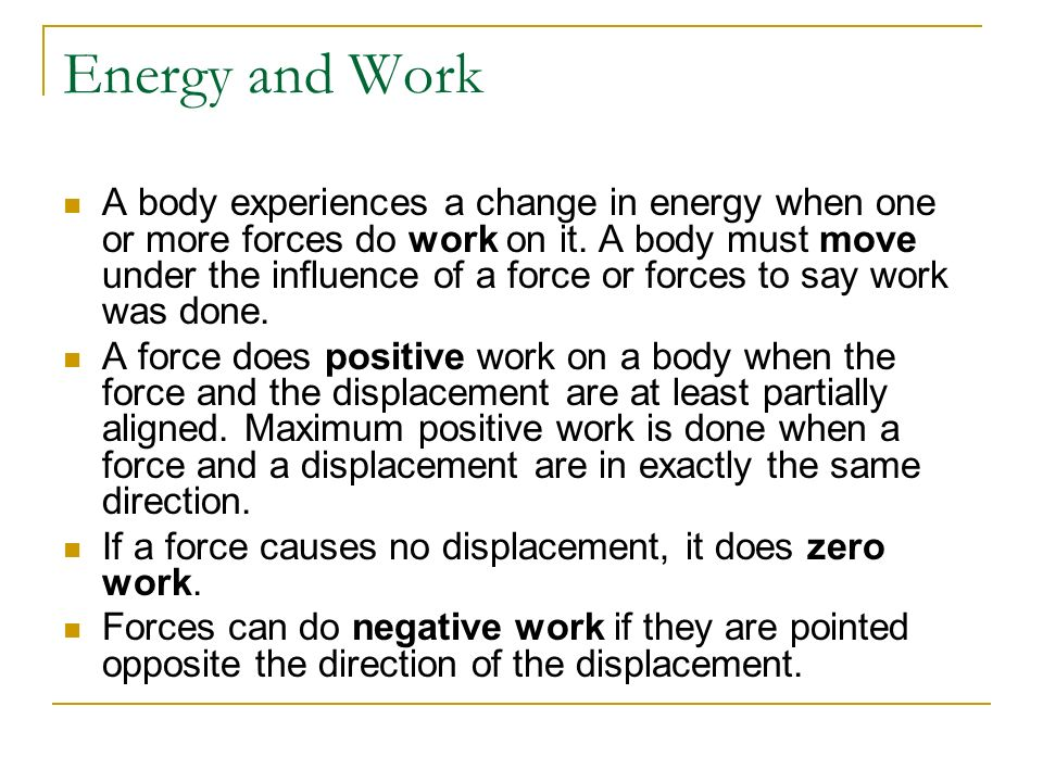Physics C Energy 3/25/2017. Energy and Work.