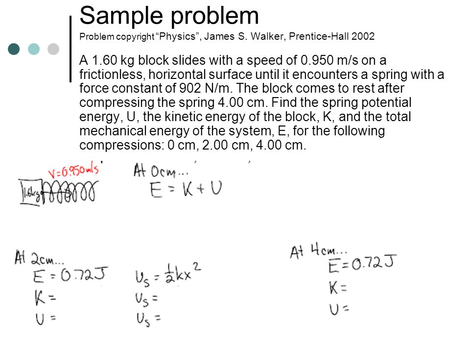 Sample problem Problem copyright Physics , James S