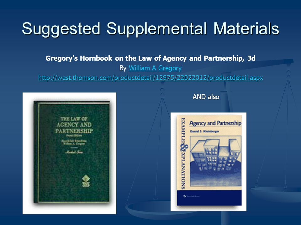 Suggested Supplemental Materials