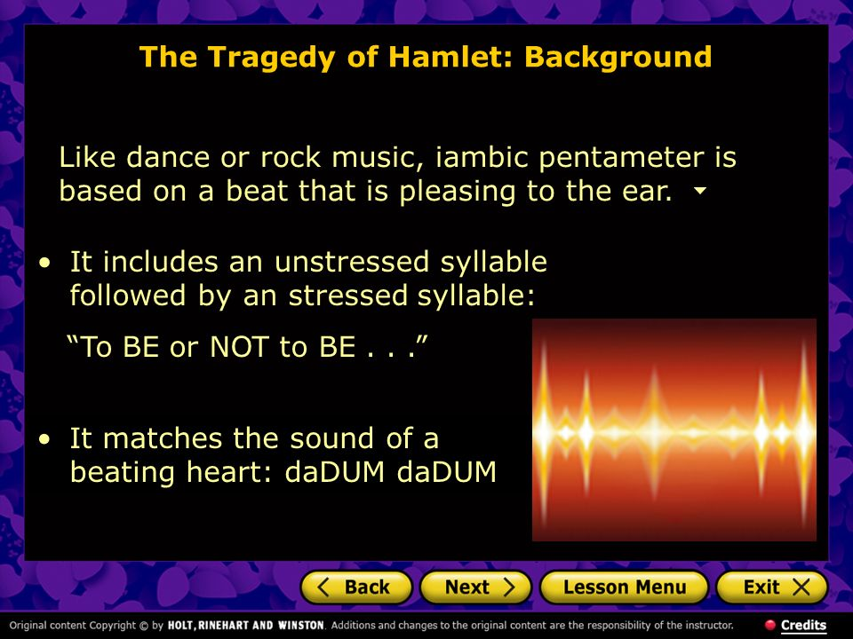 The Tragedy of Hamlet: Background