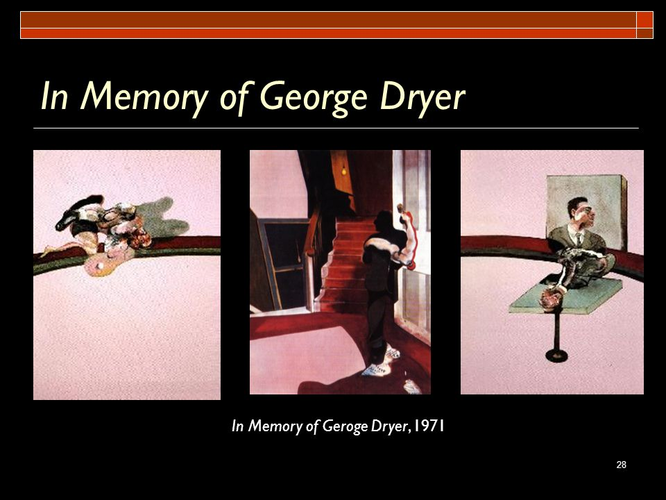 In Memory of George Dryer