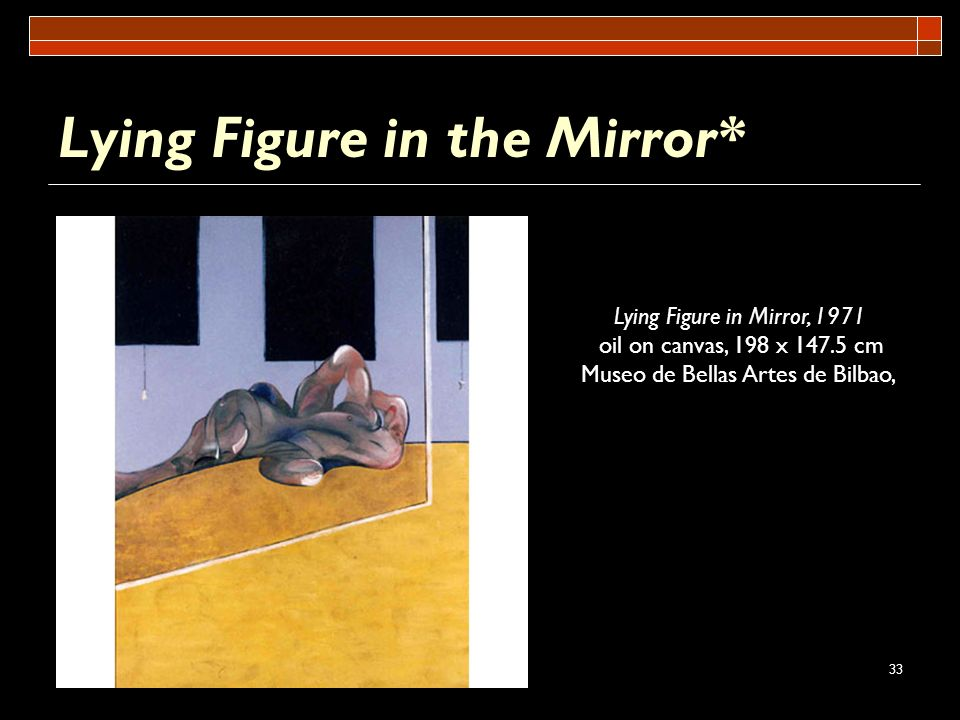 Lying Figure in the Mirror*