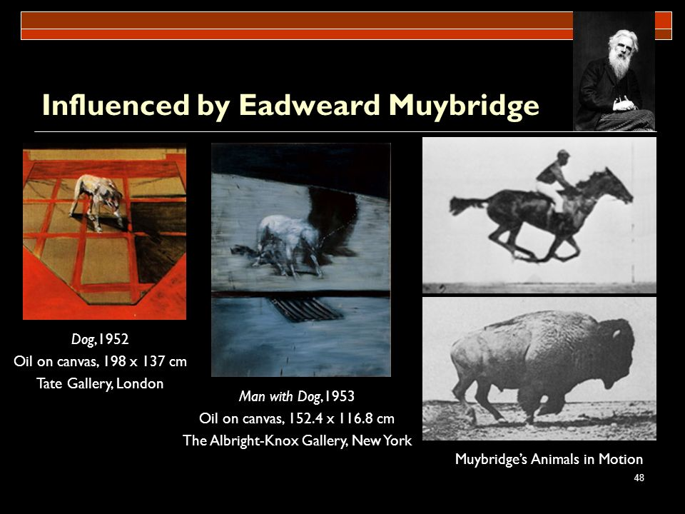 Influenced by Eadweard Muybridge