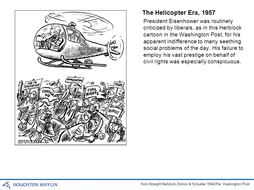 The Helicopter Era, 1957