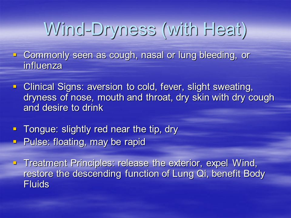 Wind-Dryness (with Heat)