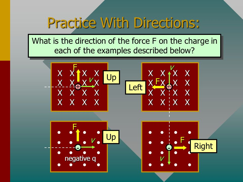 Practice With Directions: