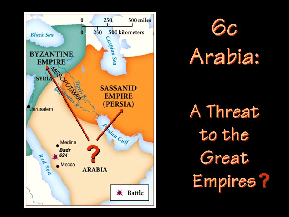 A Threat to the Great Empires