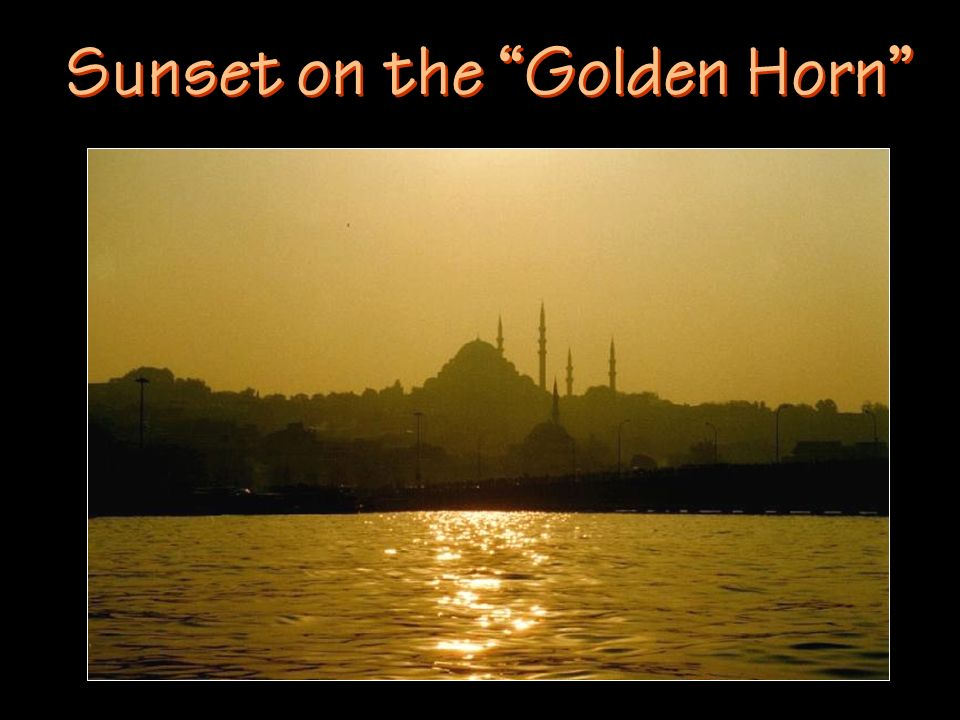 Sunset on the Golden Horn