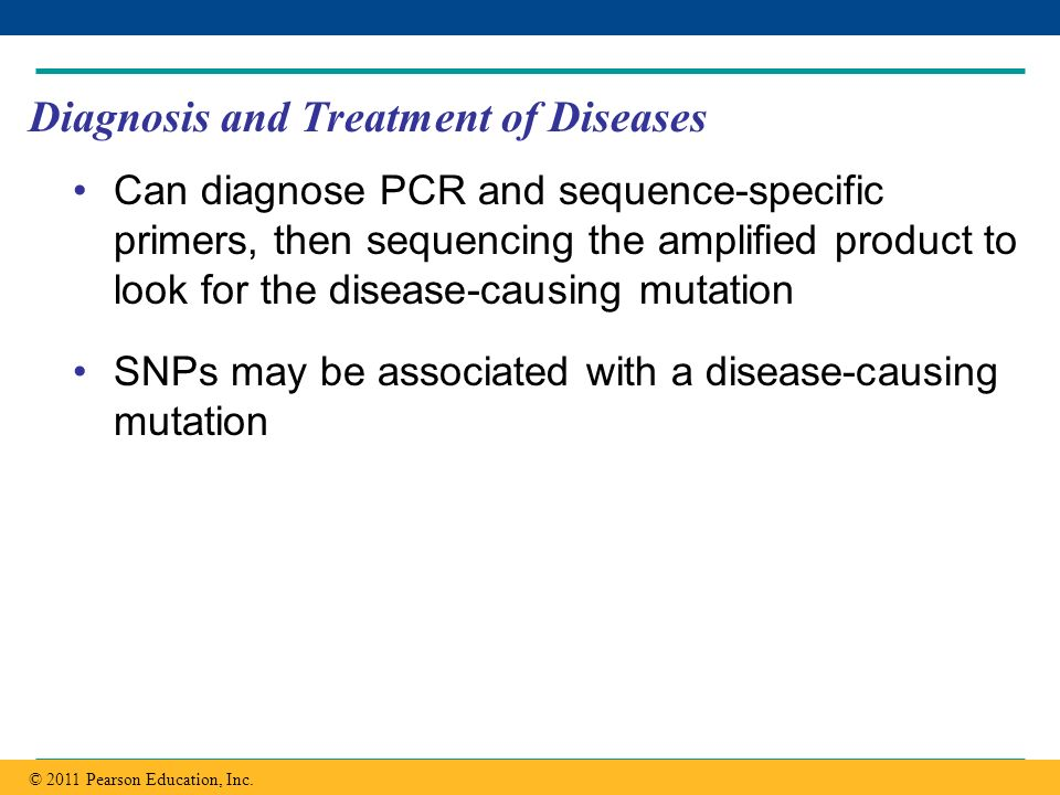 Diagnosis and Treatment of Diseases