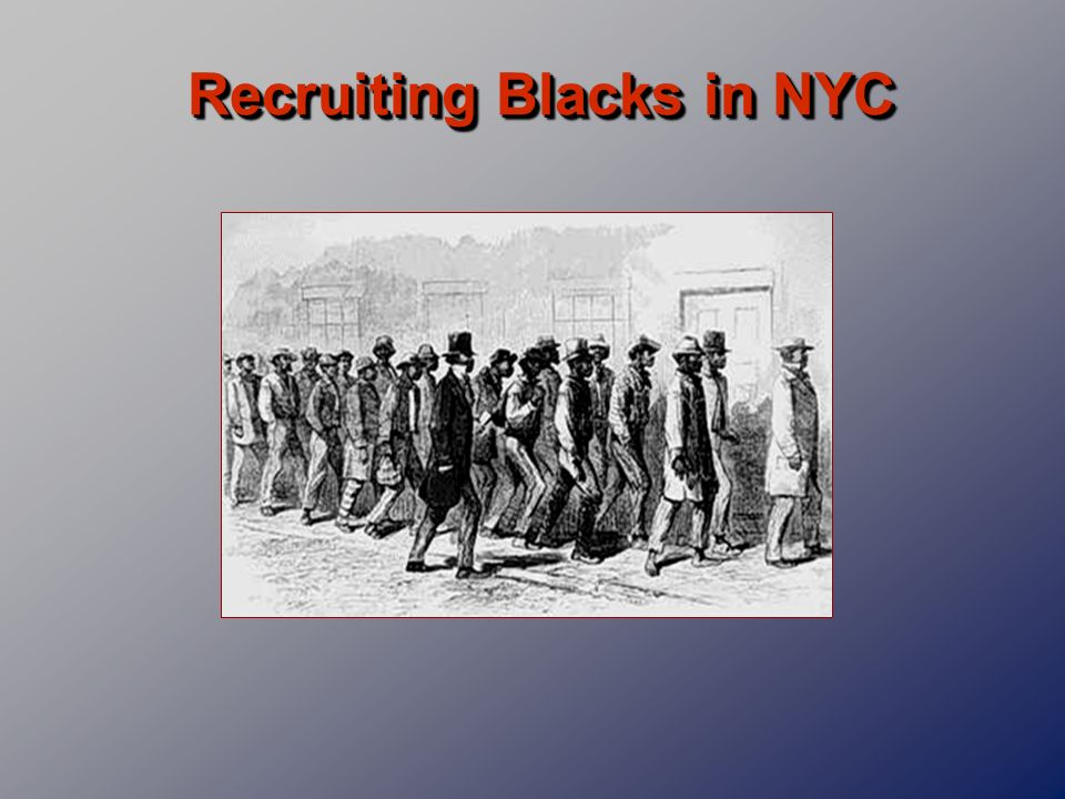 Recruiting Blacks in NYC