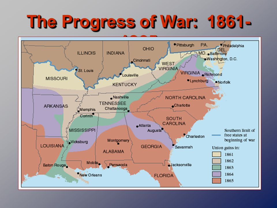 The Progress of War: