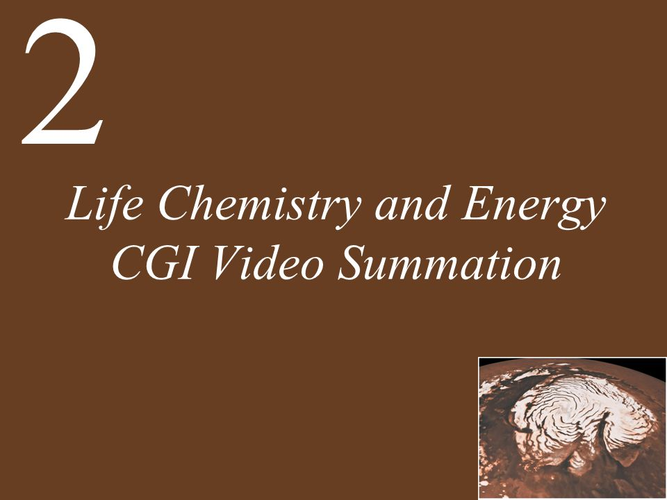Life Chemistry and Energy CGI Video Summation