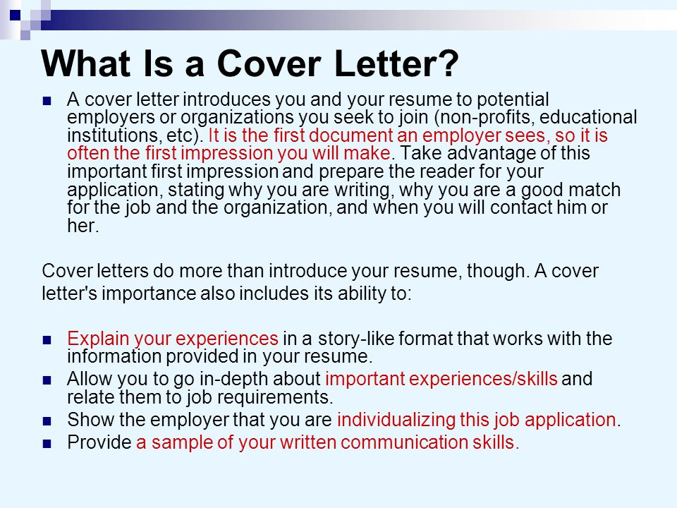 Cover Letters And Business Letters Ppt Video Online Download - Are-cover-letters-important