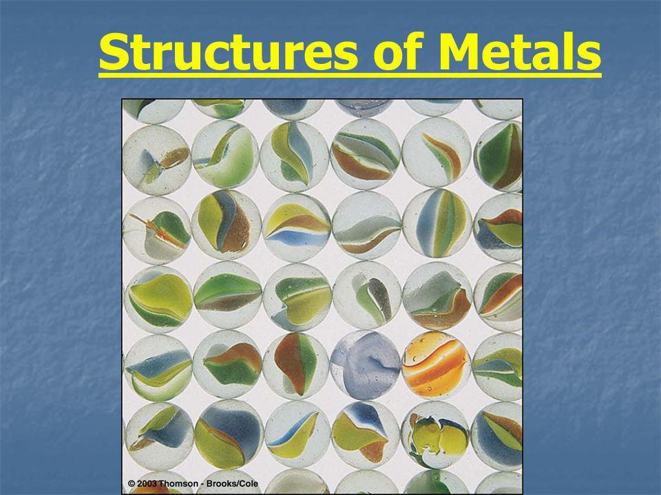 Structures of Metals