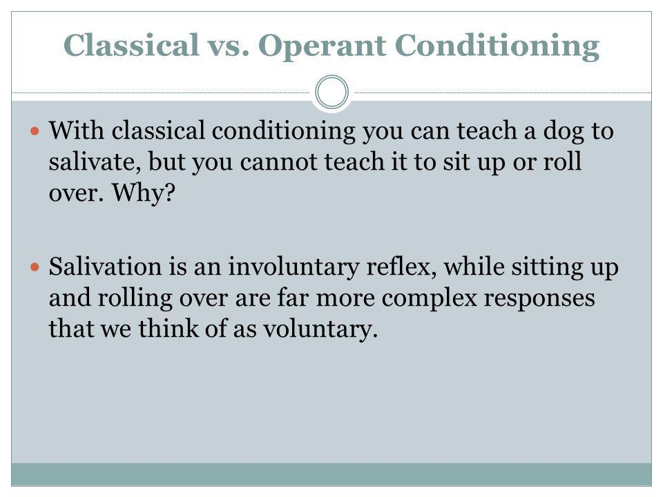 Learning Classical and Operant Conditioning Chapter 6 - ppt video