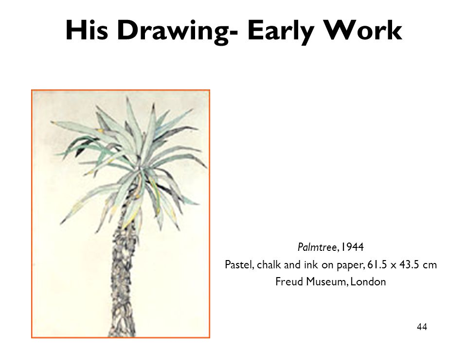 His Drawing- Early Work