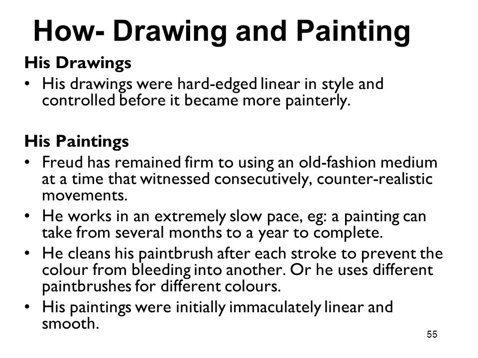 How- Drawing and Painting