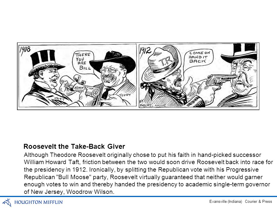 Roosevelt the Take-Back Giver