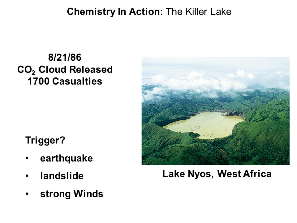 Chemistry In Action: The Killer Lake