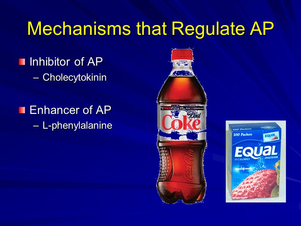 Mechanisms that Regulate AP