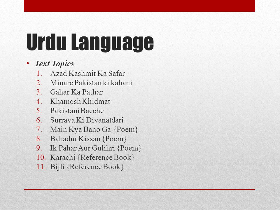 Urdu Language Text Topics Azad Kashmir Ka Safar